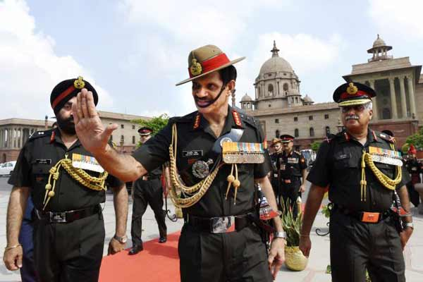 General Dalbir Singh: Neighbouring country in proxy war, gathering forces at borders