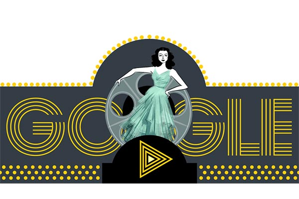 Google Doodle: Google honours actress Hedy Lamarr on her 101st birth anniversary