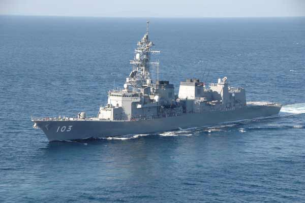 Armed Chinese vessel enters Japan waters, claimed Japan