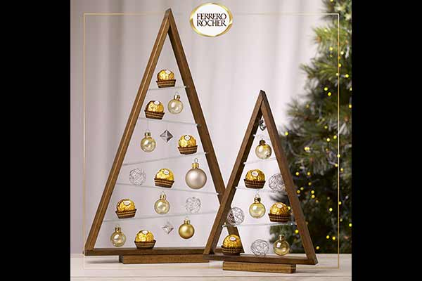 Ferrero Rocher uses Instagram grid view to be a part of the Christmas Spirit