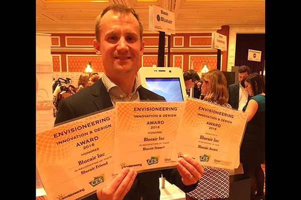 CES 2016 - Blueair receives three prestigious awards at the biggest consumer electronics show on earth