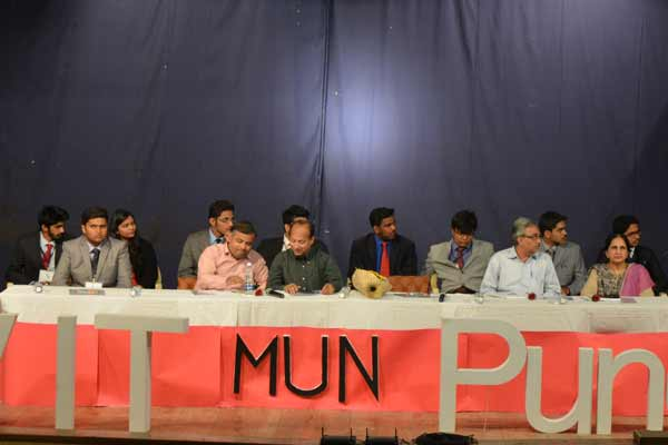 VIT Pune holds its first ever MUN conference
