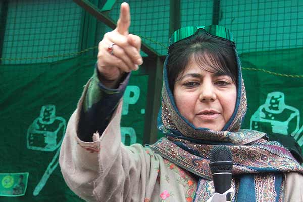 Mehbooba holds all-party meet over Kashmir unrest; National Conference boycotts the meet