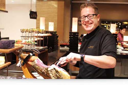"""Pedro Carrillo: """"Satisfying the tastes of both local and international guests"""""""
