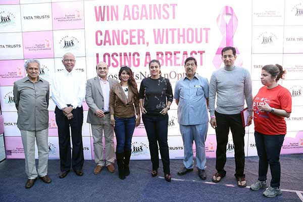 #LosingIsNotAnOption: Launch of India's largest breast cancer screening drive by Tata Trusts, Prashanti Cancer Care and Swasth India