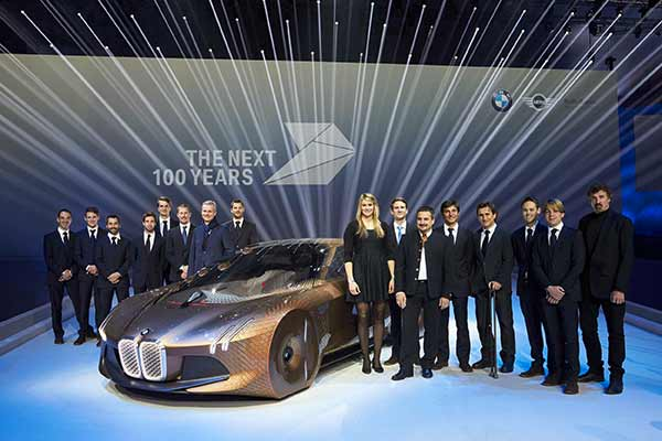 BMW sports stars get centenary of the BMW Group and BMW brand up and running at Centenary Event