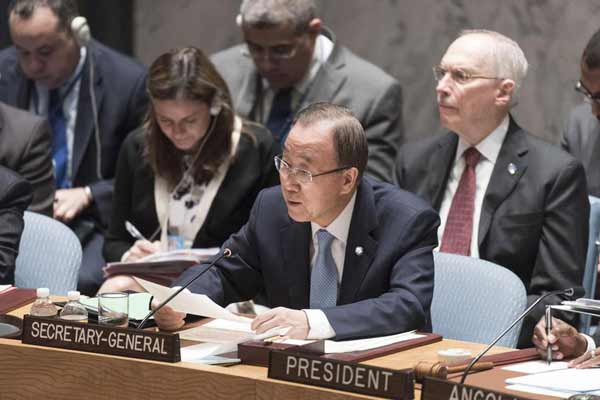 Ban welcomes Security Council action to combat sexual exploitation by UN peacekeepers