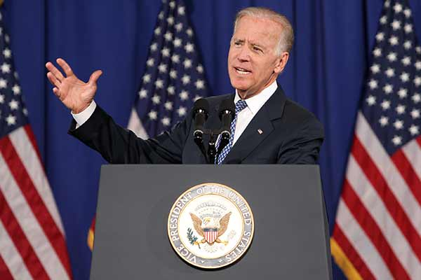 US will 'wipe out' evil of IS jihadists: Biden