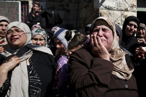 Two Palestinian teens shot dead after attacking Israeli