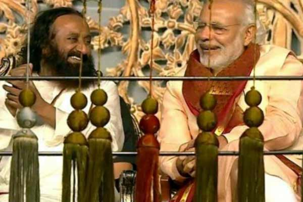 Sri Sri Ravi Shankar's event: This event is a Kumbh Mela of culture, AoL helped world know India, says PM Modi