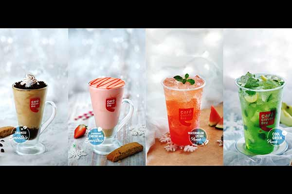 At Café Coffee Day, meet Winter this Summer!