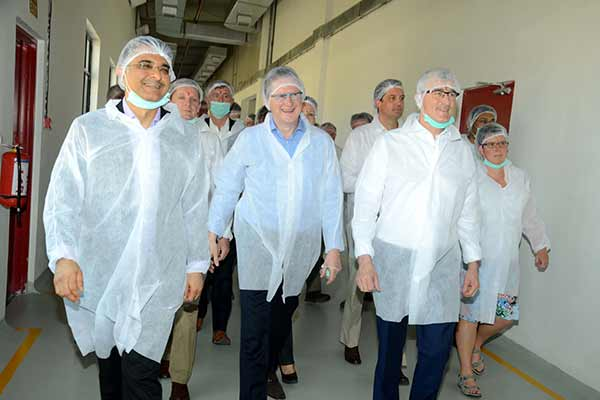 Minister-President of Government of Flanders inaugurates expansion of Pune facility of the headquartered Puratos