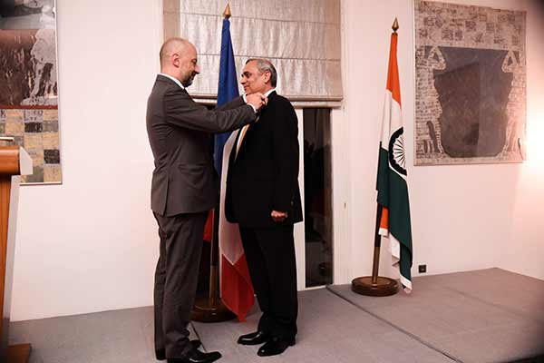 Anil Chaudhry, Managing Director & Country President, Schneider Electric India receives the highest French civilian award, Legion of Honour