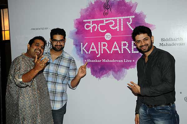 Shankar Mahadevan to stage his first live show in Pune after the success of Katyar Kaljat Ghusali