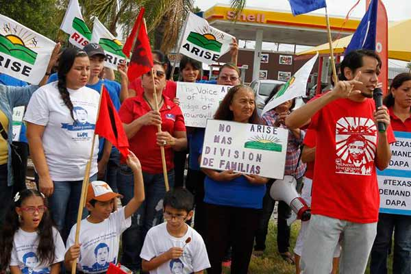 Indian-Americans join anti-deportation rally in front of US Supreme Court