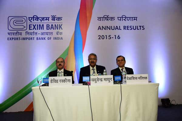 Exim Bank posts robust business growth in 2015-16