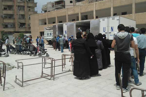 Humanitarian operations to support Palestinian refugees continue near Syrian capital – UN agency