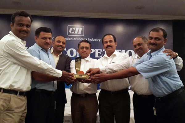 KEPL awarded by CII for KAIZEN Practices