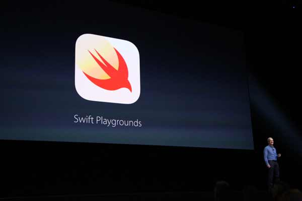 WWDC: Apple announces Swift Playgrounds for iPad