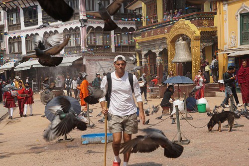 Wild Frank in India on Discovery Channel