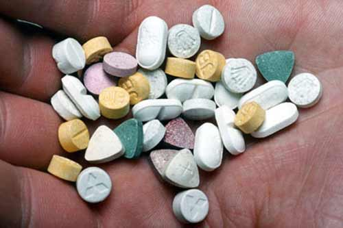 Three 12-year-old girls rushed to hospital after taking ecstasy pills in Britain