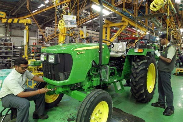 John Deere Tractors ranked 'number one' by JD Power