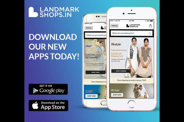 LandmarkShops.in launches its latest Android and official iPhone apps