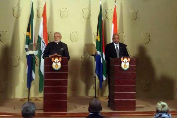 Modi in South Africa: Terrorism a shared threat, need to remain vigilant and cooperate