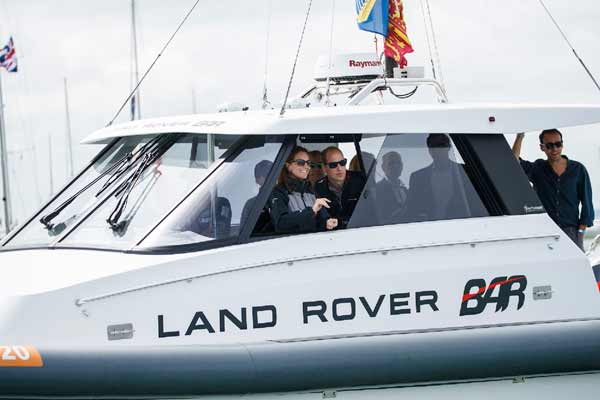 Land Rover Bar rule the waves in Portsmouth