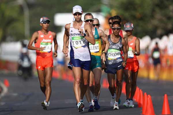 Rio 2016: Toth reels in Tallent to win 50km walk gold