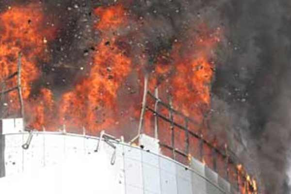 Fire erupts at Dhaka mall; 12 trapped