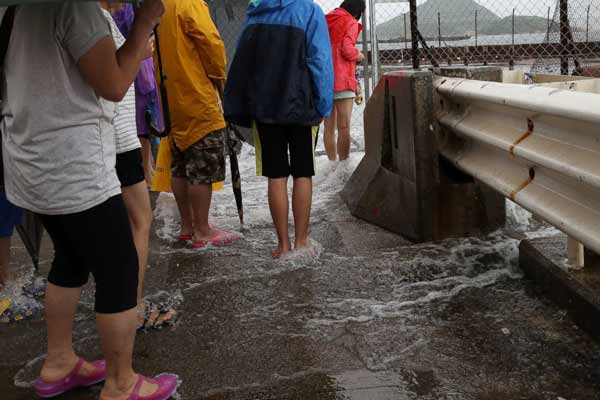 Typhoon Nidha in China; At least 4.95 lakh people affected