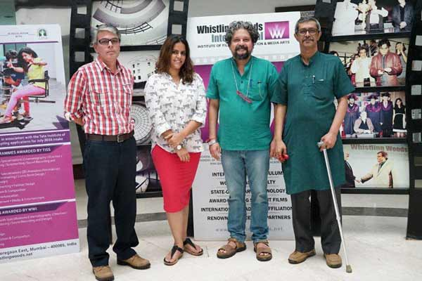 Amole Gupte talks about the journey from a writer's heart to a director's vision to the students of WWI