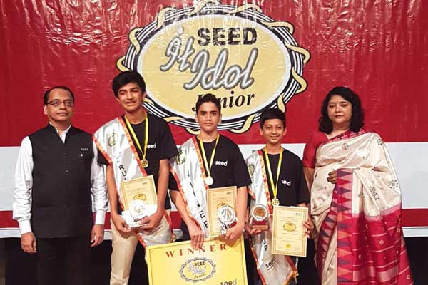 Bharatiya Vidya Bhavan's Mandar Ambulkar becomes the 'Junior IT Idol'