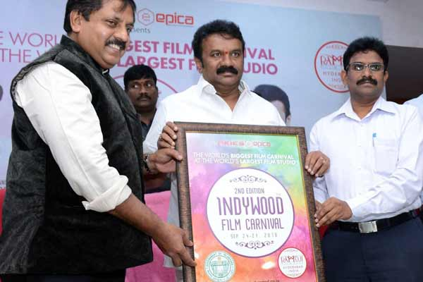 Minister of Cinematography joins hands with Indywood Film Carnival at Hyderabad