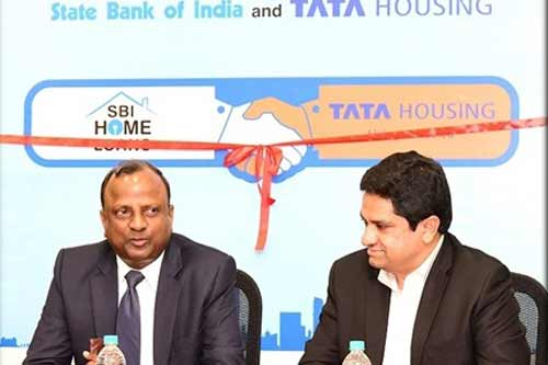 SBI Ties up with TATA Housing for a never before partnership for TATA Homes