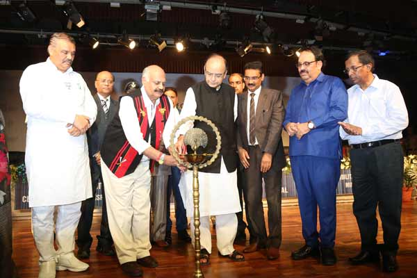 Union Finance & Corporate Affairs Minister Arun Jaitley inaugurated StartUp School at LPU
