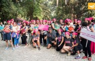 Baby wearing walk with Milind Soman at the Empress Garden Pune
