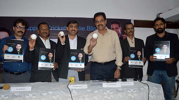 Dilip Vengsarkar releases 2nd T20 World Cup Cricket for the Blind match schedule