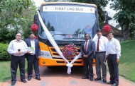 Tata Motors showcases country's first LNG-powered bus