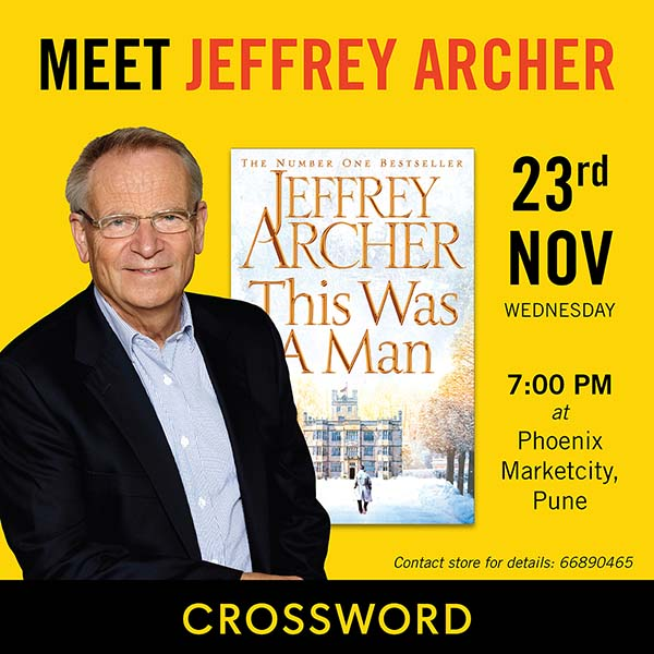 Jeffrey Archer Book Launch – Pune