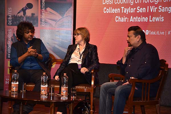 The curry story: panel discussion at Tata Literature Live! The Mumbai LitFest