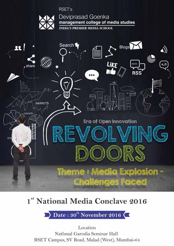 1st National Media Conclave at DGMC