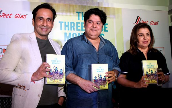Farha Khan says Jeet Gian is really a funny author whose new book The Wise Monkeys was released recently