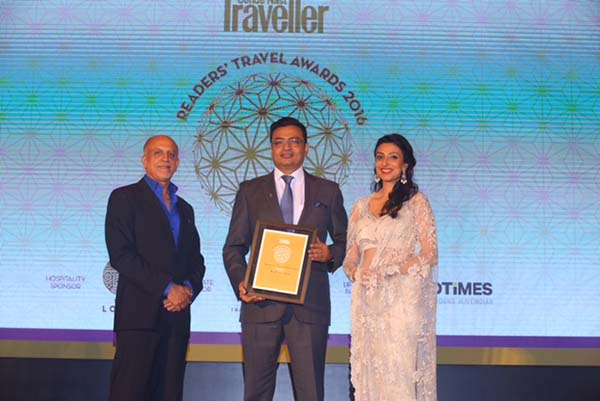 The St Regis Mumbai wins 'Favourite New Business Hotel' at Condé Nast Traveller Readers' Travel Awards
