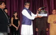 Bollywood stars at mahurat of Marathi film