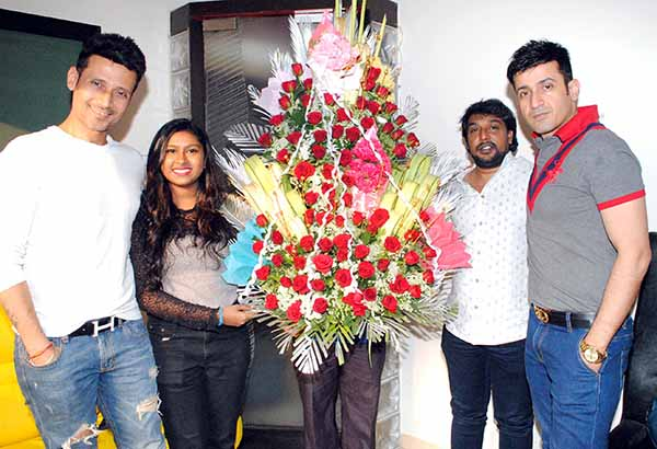 Sanchiti Sakat sang her first Bollywood song with Music director Meet brothers for Hindi film Jolly LLB2