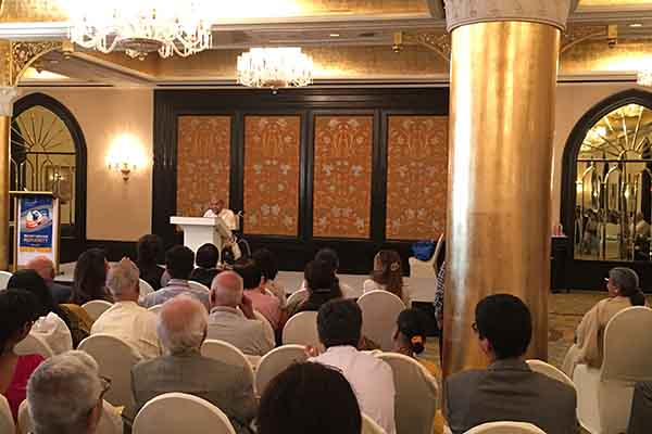 Rev. Dada J.P. Vaswani addresses Rotary at Taj, Mumbai on May 9, 2017