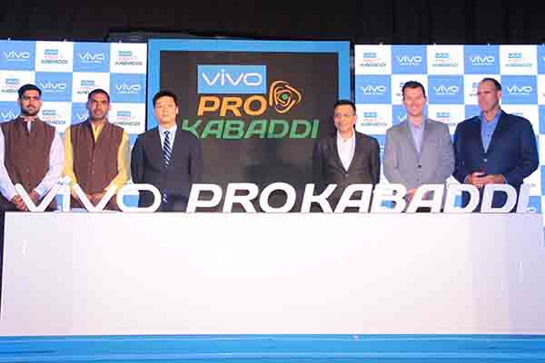 Pro Kabaddi and VIVO sign landmark 5 Year Title Sponsorship Deal
