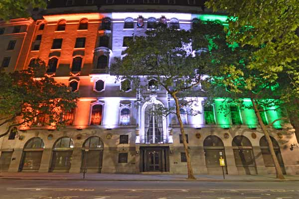 EESL lights up High Commission of India, London in Tri-Colour lighting